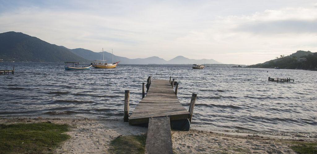 mar de Florianópolis