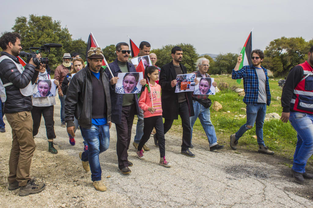 manifestação palestina