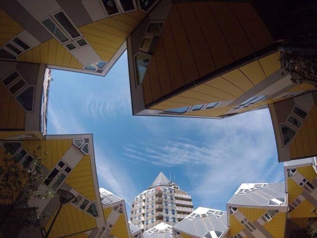 Rotterdam é símbolo da arquitetura holandesa