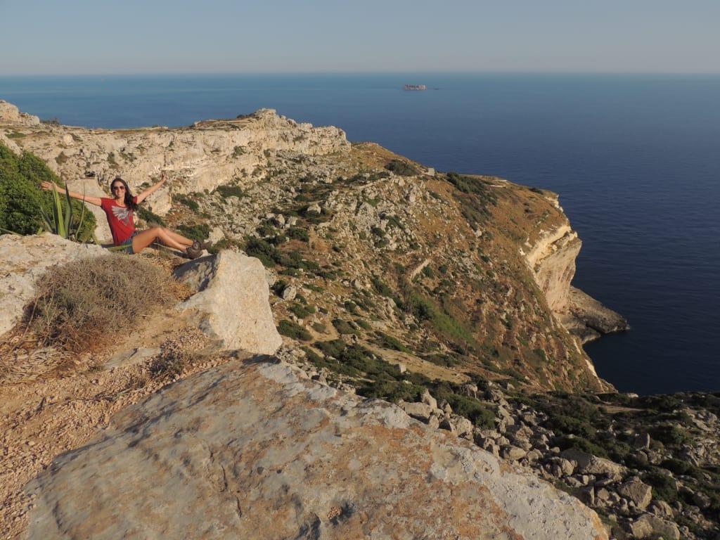 Ding Cliffs en Malta