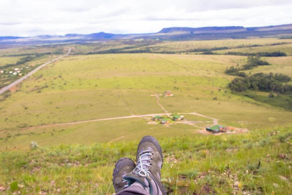 Vista do alto do Morro do Buracão