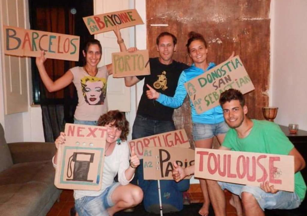 viajeros en Oporto
