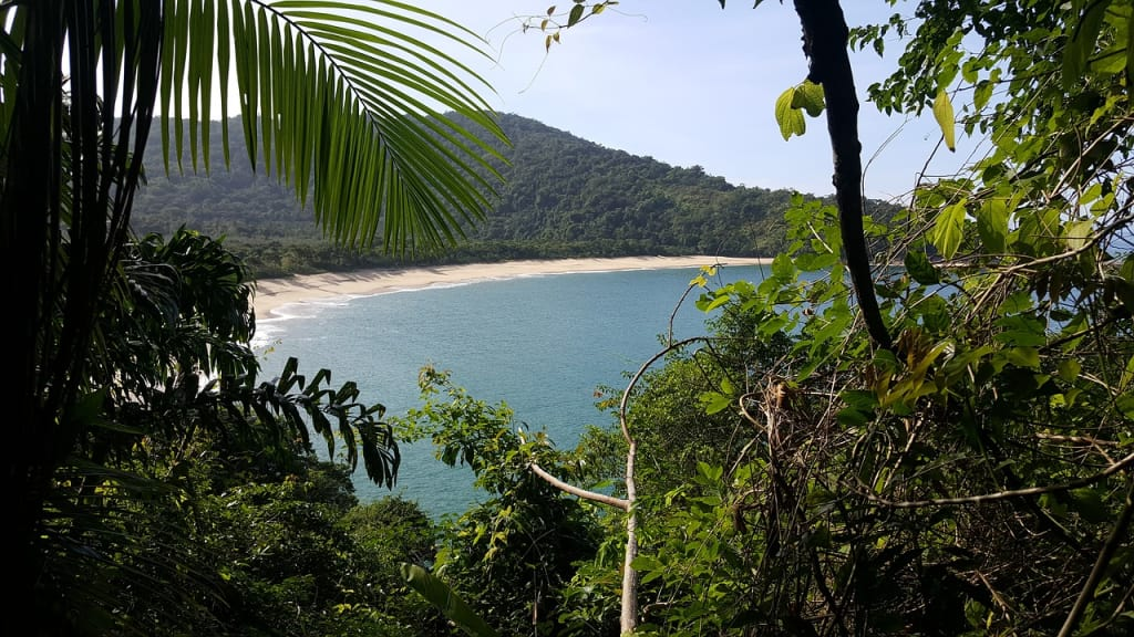 ubatuba esta repleta de praias seguras e limpas