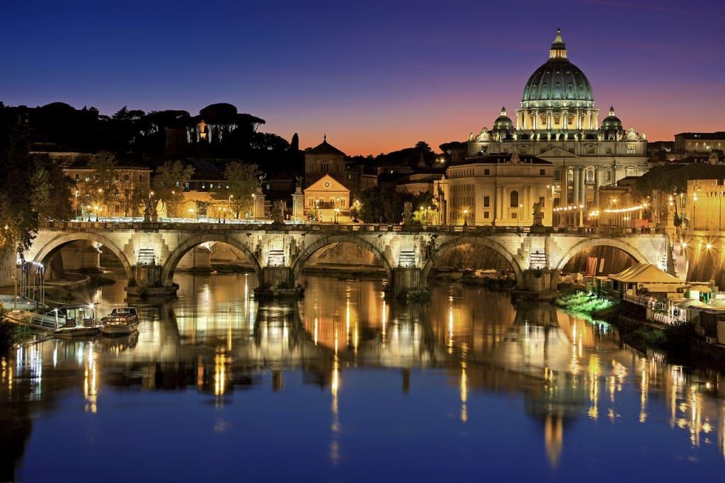 Se a primeira viagem internacional for para Europa, Roma é um bom destino