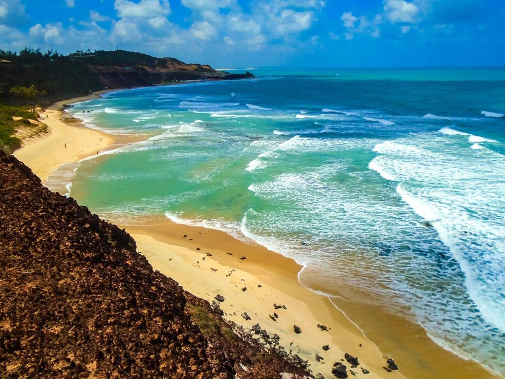 praia de pipa é um ótimo destino para viajar sozinho