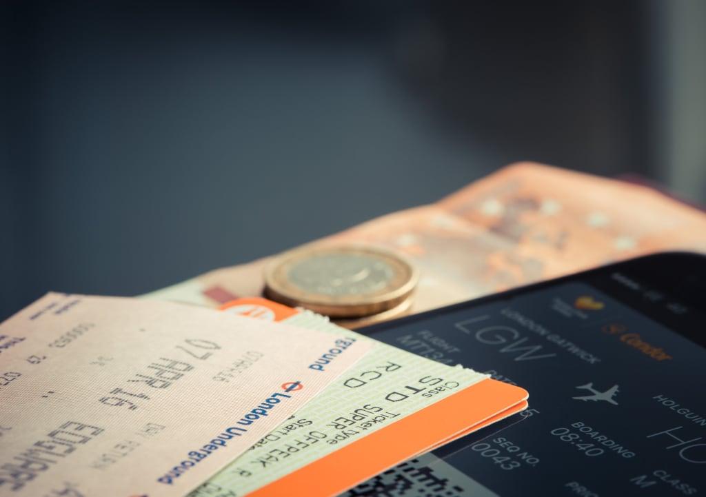 As passagens aéreas são os principais custos de uma viagem