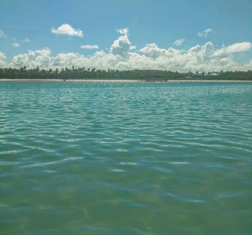 Piscina natural na Praia do Toque em São Miguel dos Milagres, Alagoas