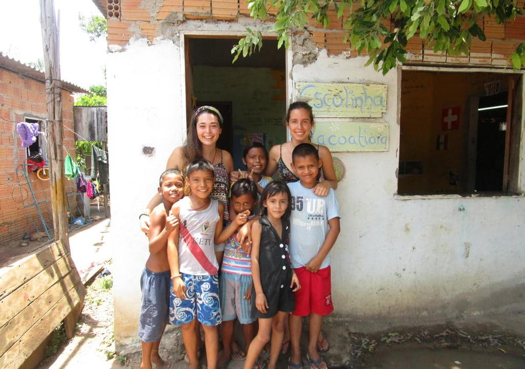 No Brasil também existem opções de trabalho voluntário