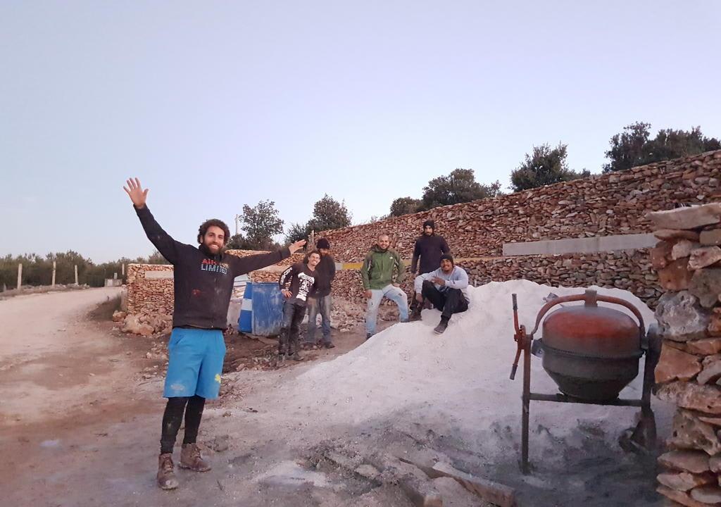 voluntários no Hostel Bol