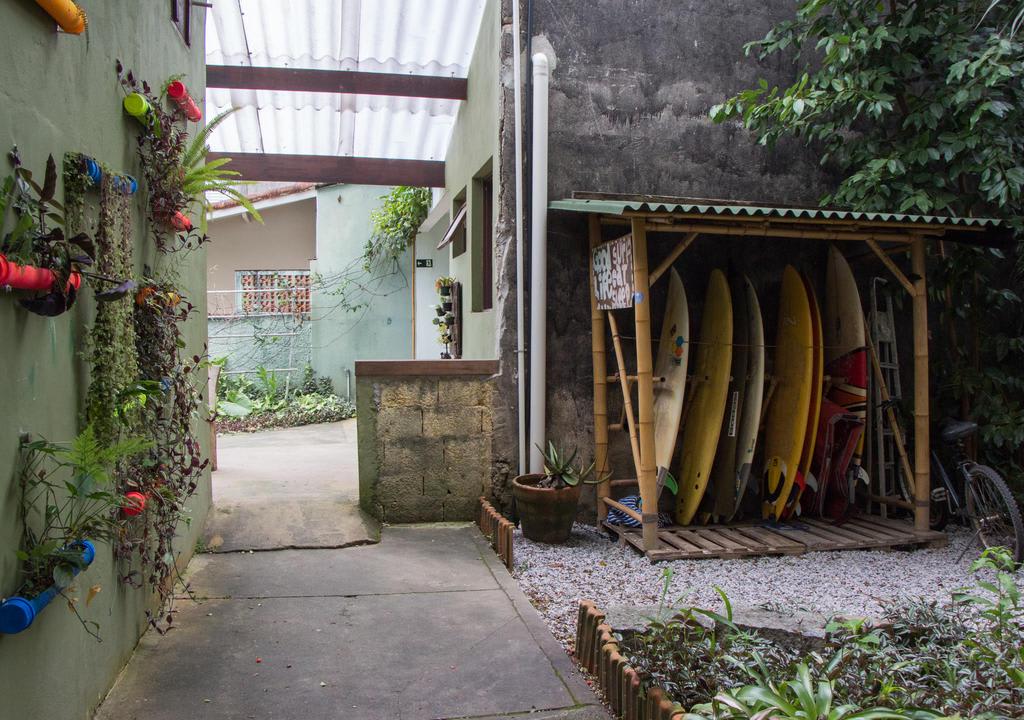 jardim do Ecotrip Hostel