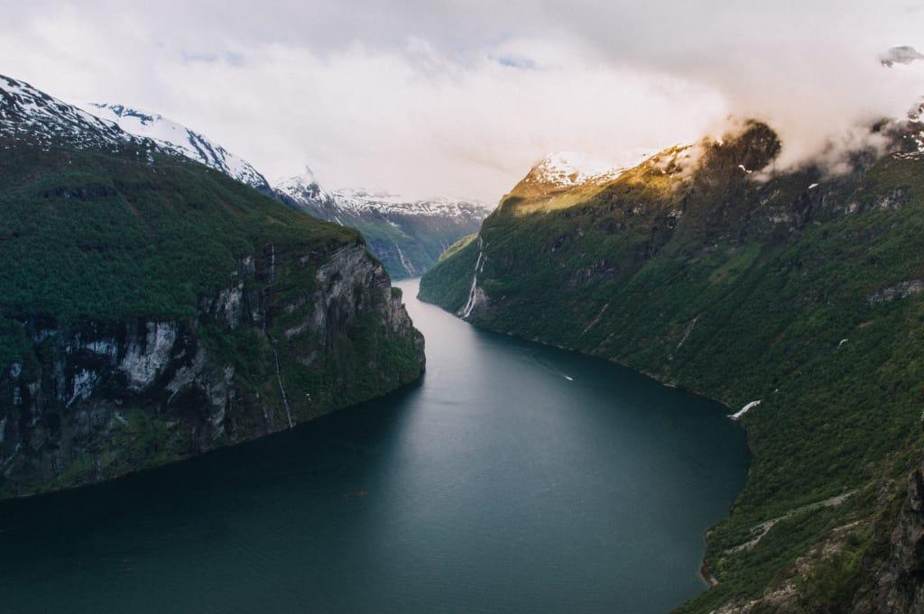 Famosa por seus fiordes, a Noruega é um dos países mais seguros do mundo