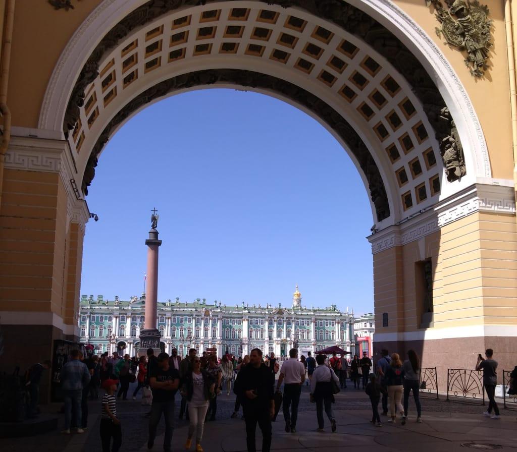O que fazer na Rússia: Praça do Palácio