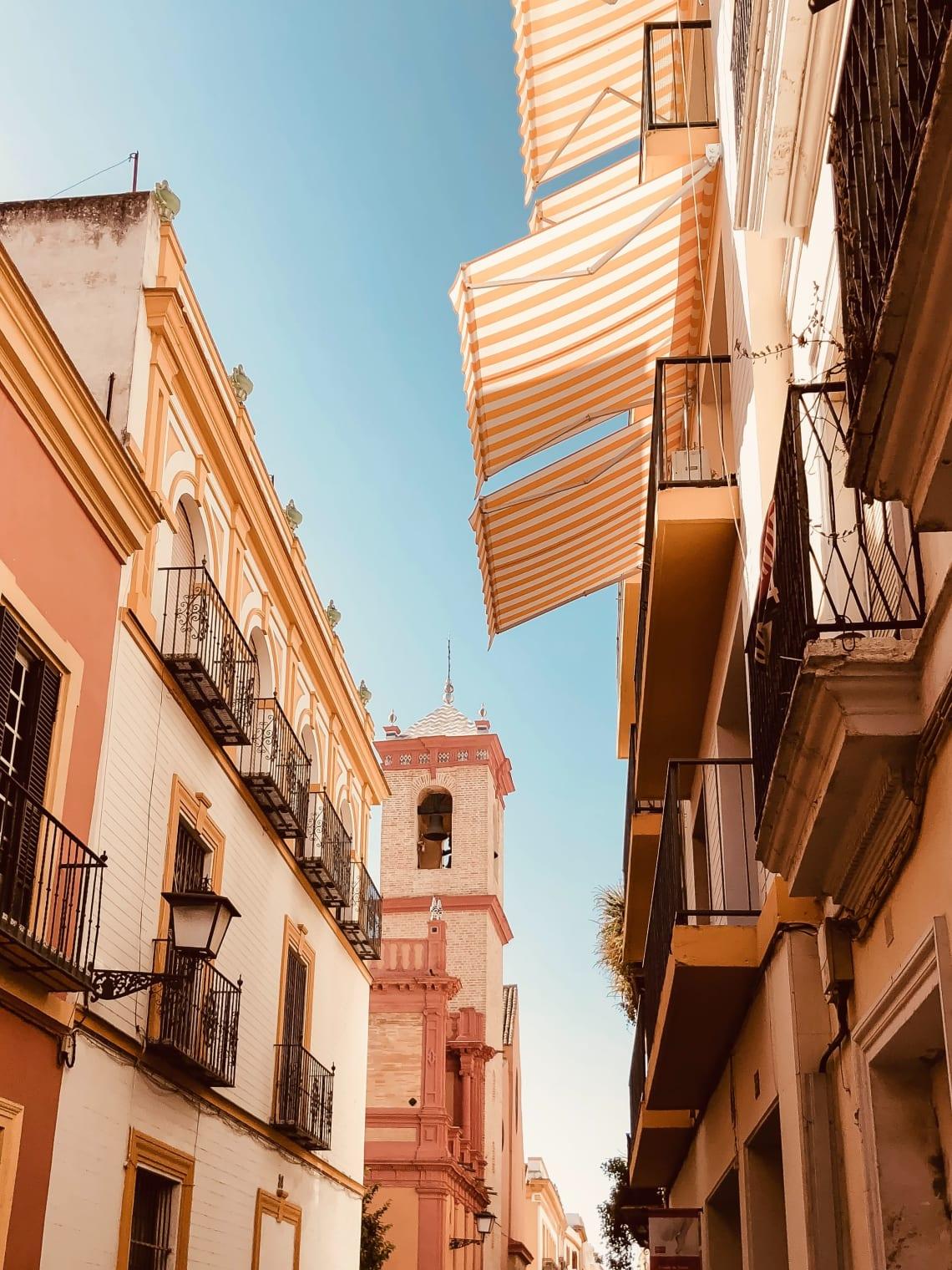 Streets of Seville, Spain