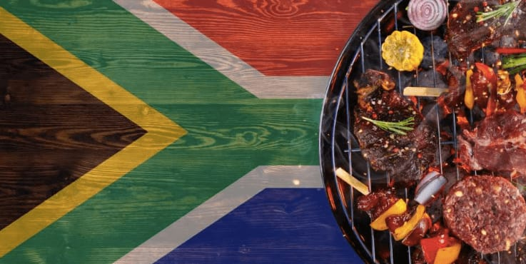 Traditional braai, South Africa