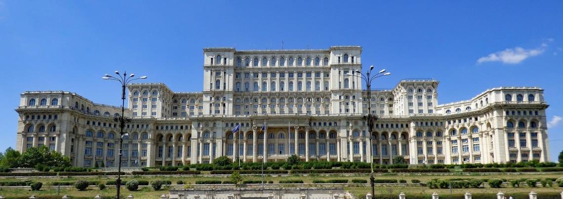Parlamento Romeno, o maior palácio do mundo
