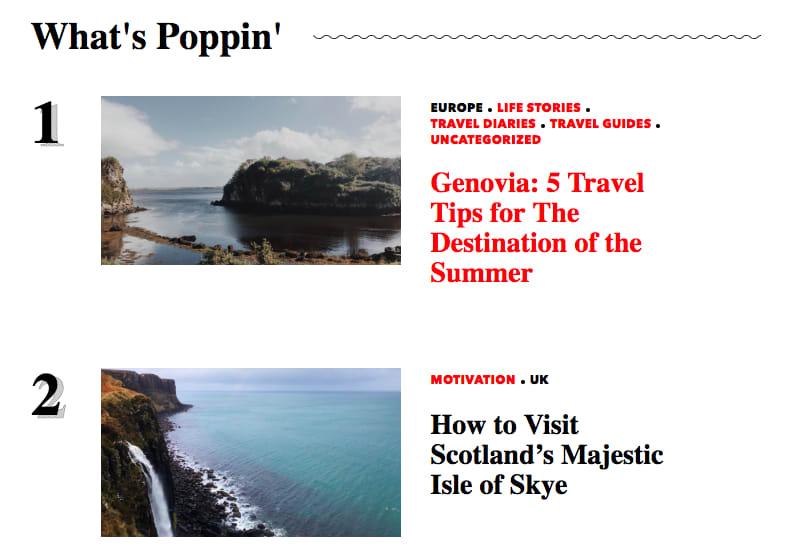 Best digital nomad blogs - Shut Up and Go