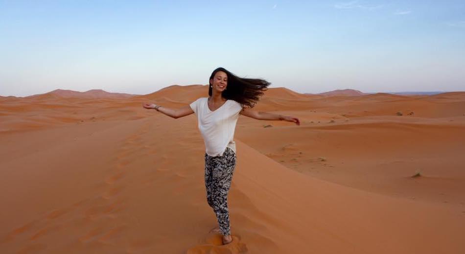 Todo lo que debes saber antes de viajar sola a Marruecos - desierto de merzouga - worldpackers