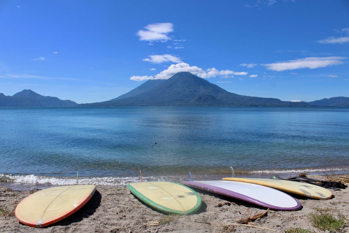 Best things to do in Lake Atitlan: stand up paddle board