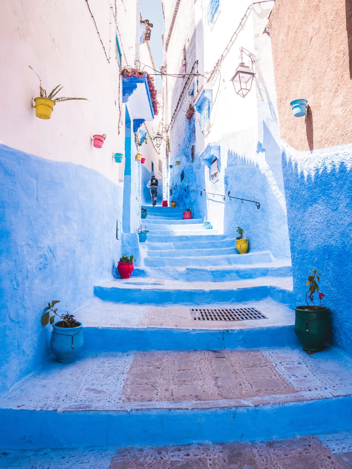 The blue city, Morocco.