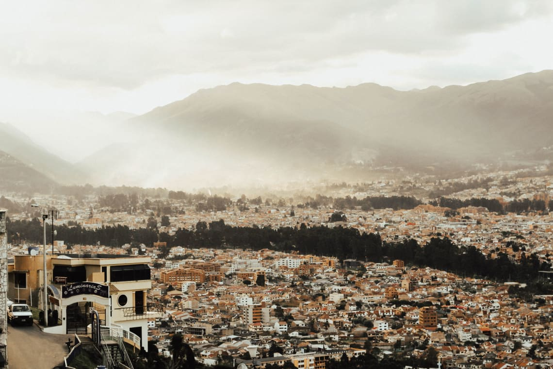 Places to travel in your 20's on a budget: Ecuador