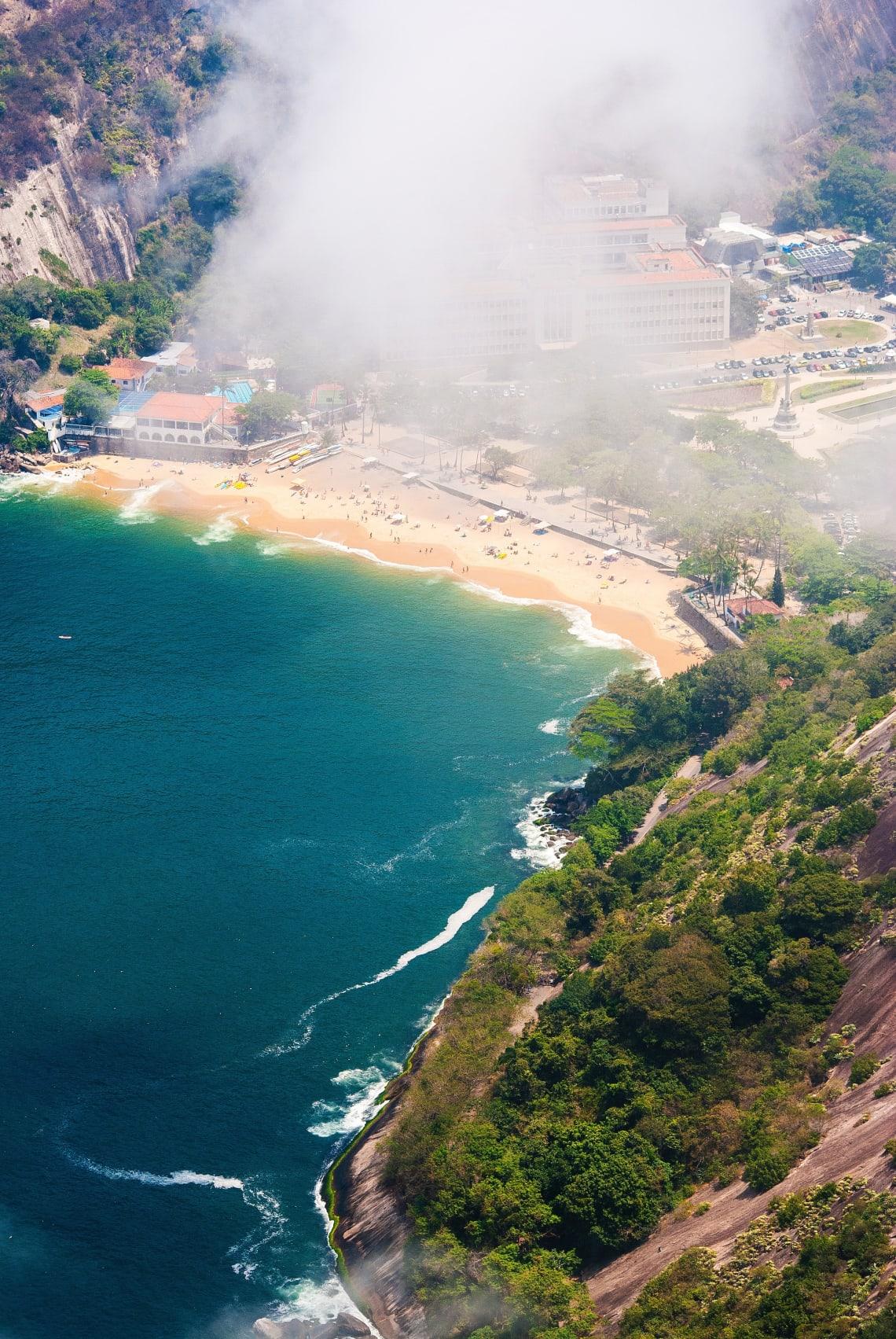 Aerial view of Rio de Janeiro, Brazil, South America