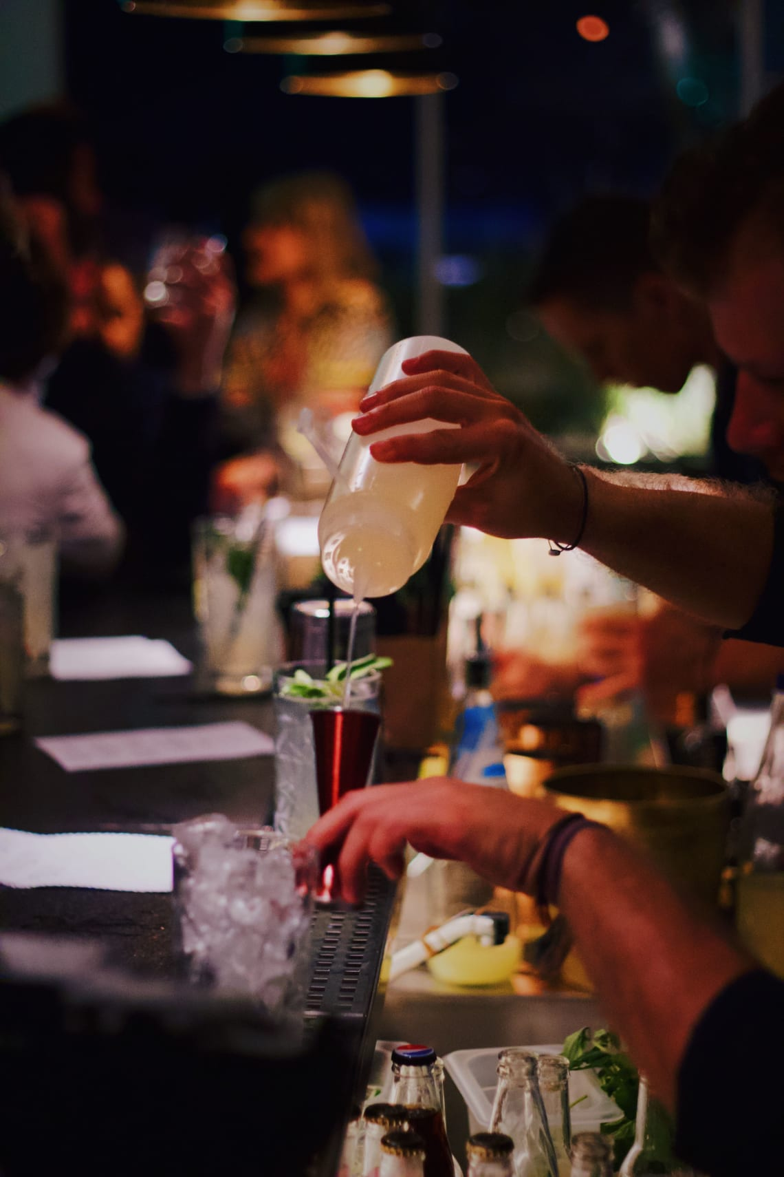 Become a traveling bartender
