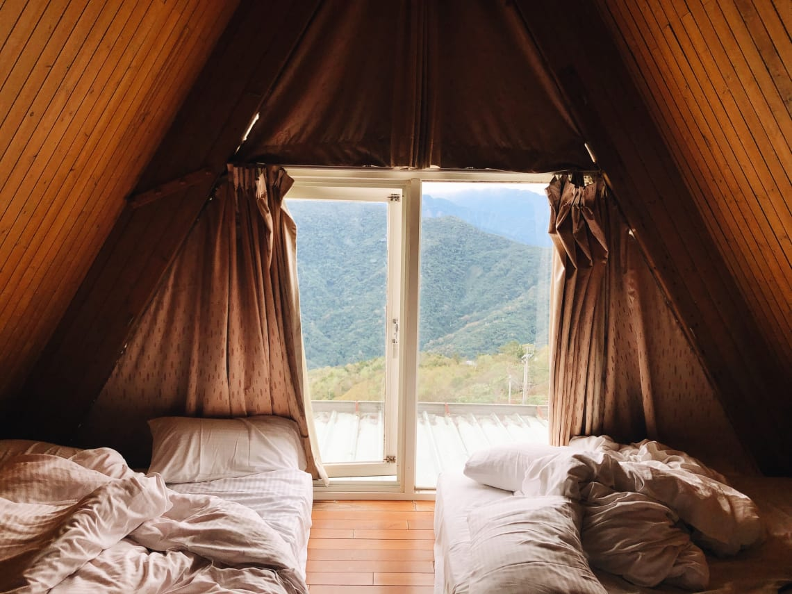 Alternative accommodation in the mountains