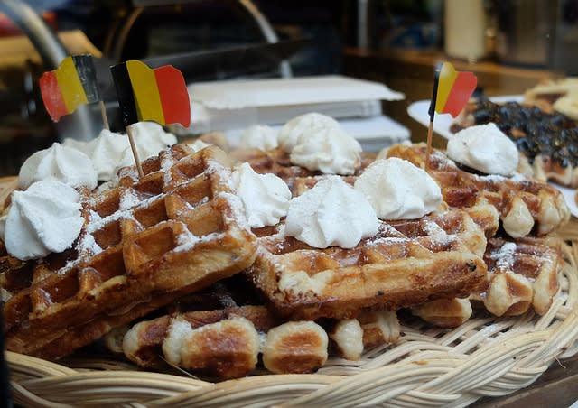 Tudo sobre a Bélgica: o waffle é uma comida típica por lá