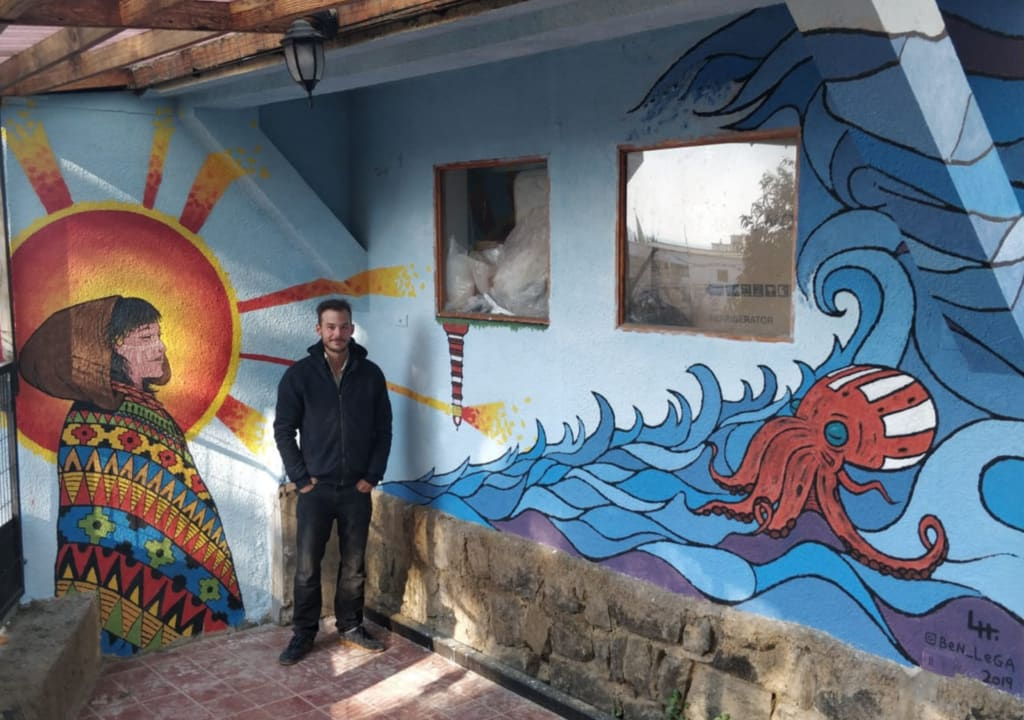 10 increíbles voluntariados en Sudamérica - Worldpackers - viajero en casona Minka en Chile