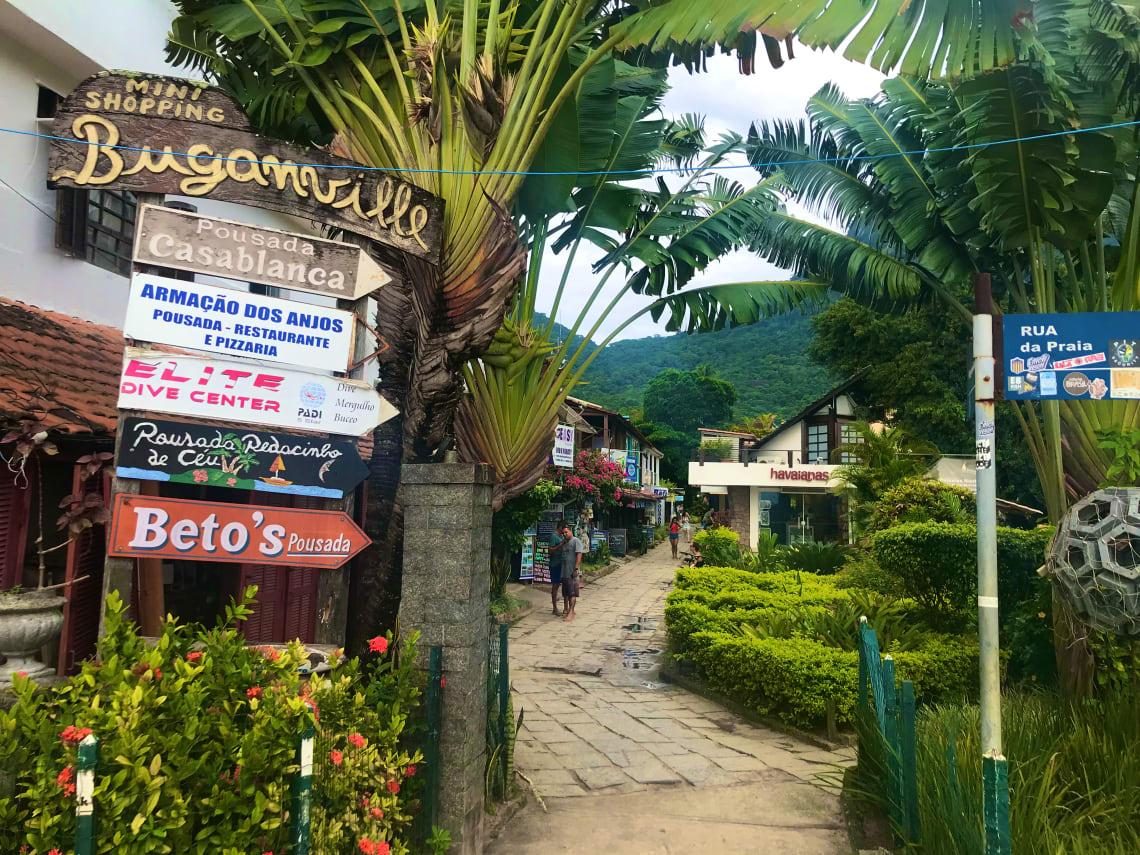 onde ficar em ilha grande hostel