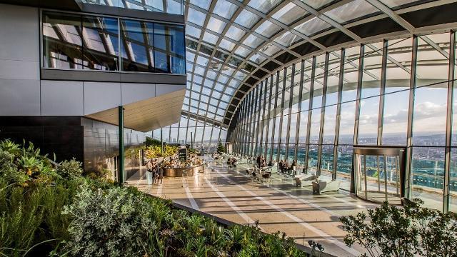 12 lugares que no debes perderte en Londres - Worldpackers - sky garden en londres