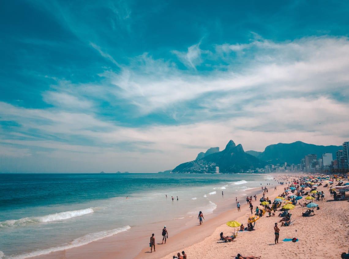 Beach, Rio de Janeiro travel, Brazil