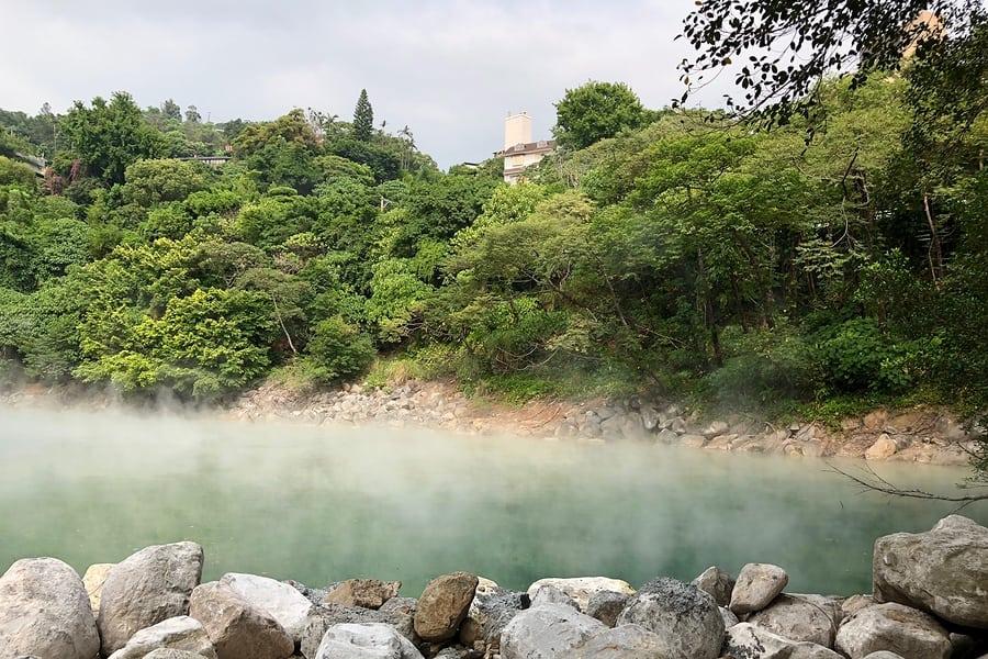Taiwan também oferece banhos termais, para quem quer relaxar