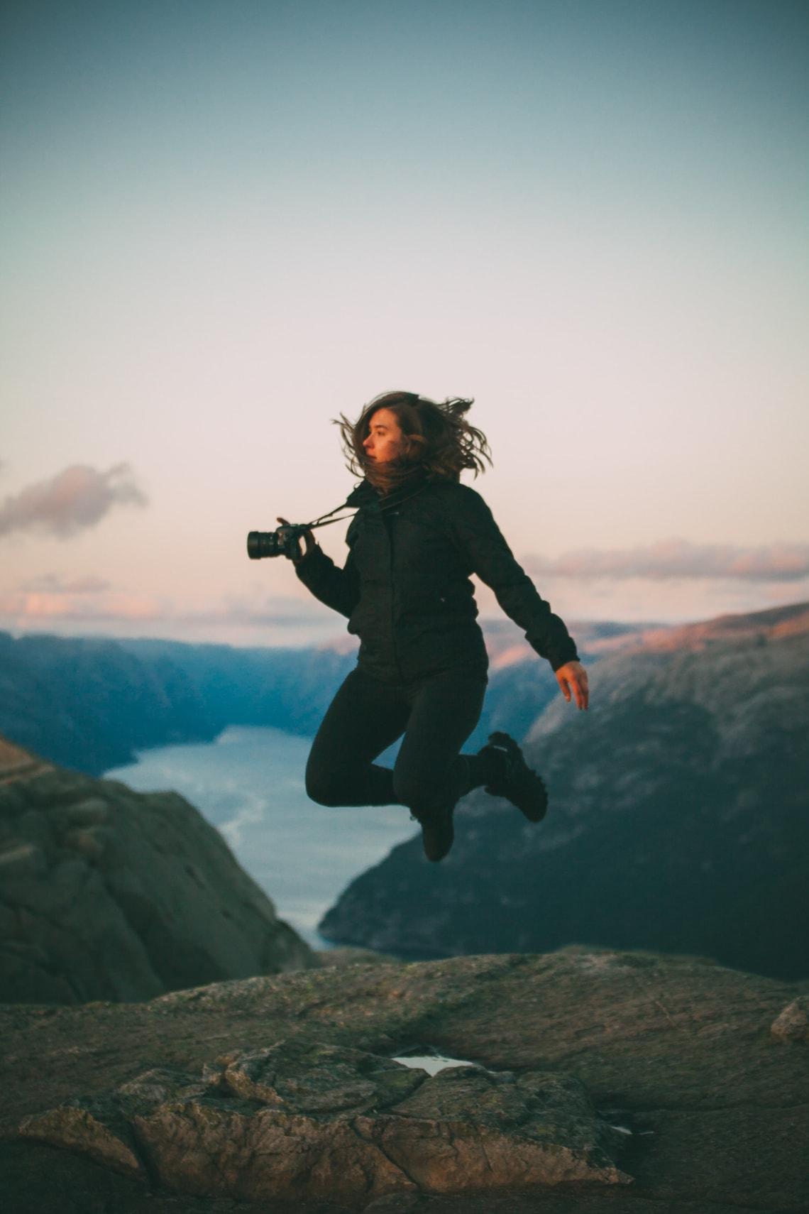 Self-development travel