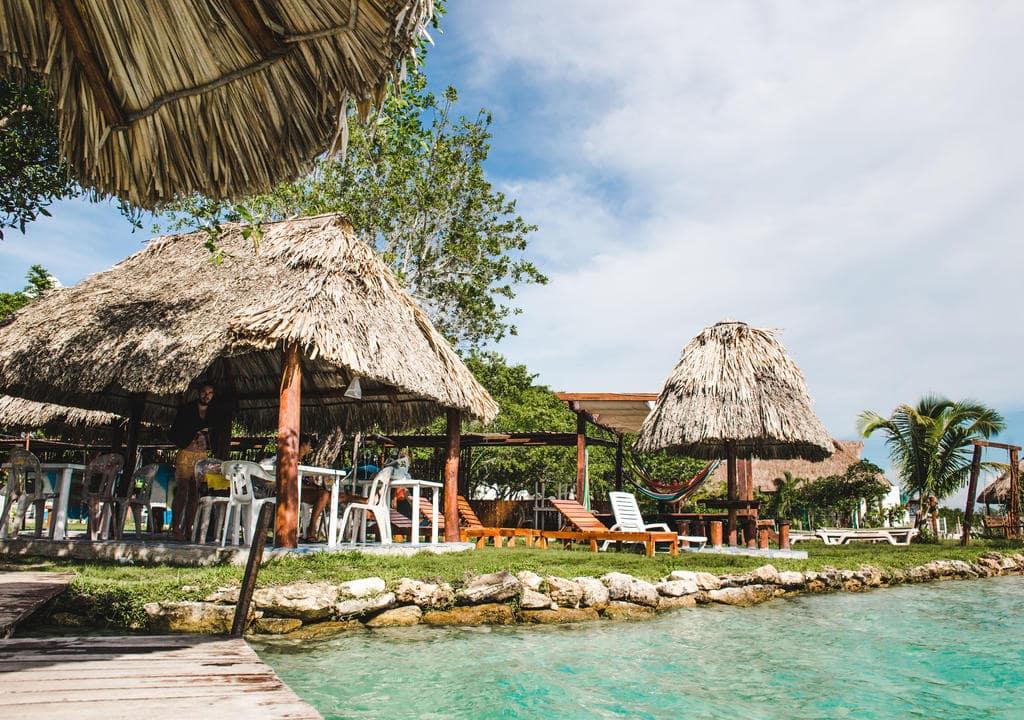 Learn bartending at Garden Paradise Hostel, Bacalar, Mexico