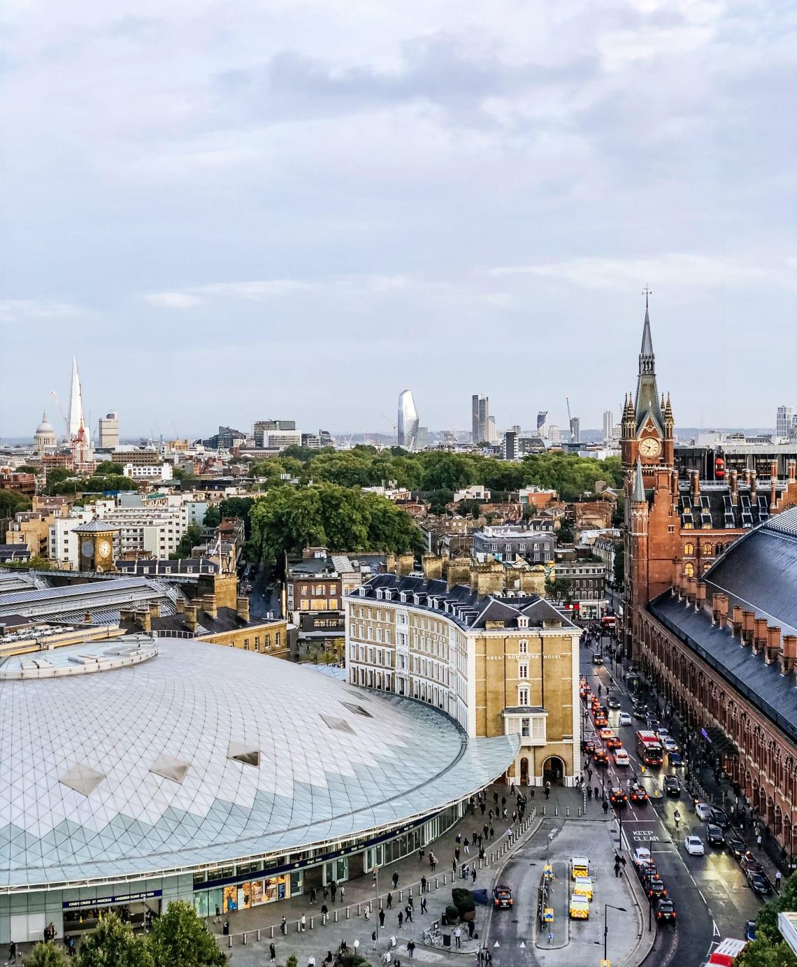King's Cross and St Pancras International, London, UK