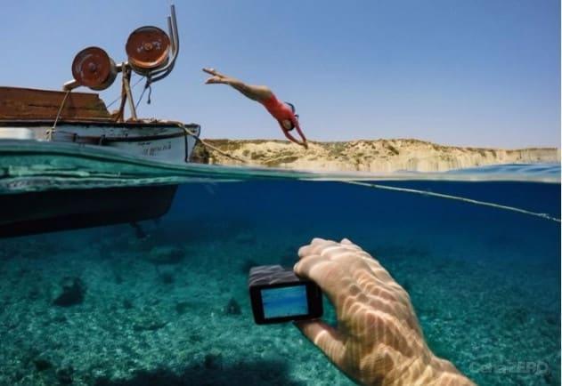 A GoPro é boa para produzir vídeos de ação e subaquáticos
