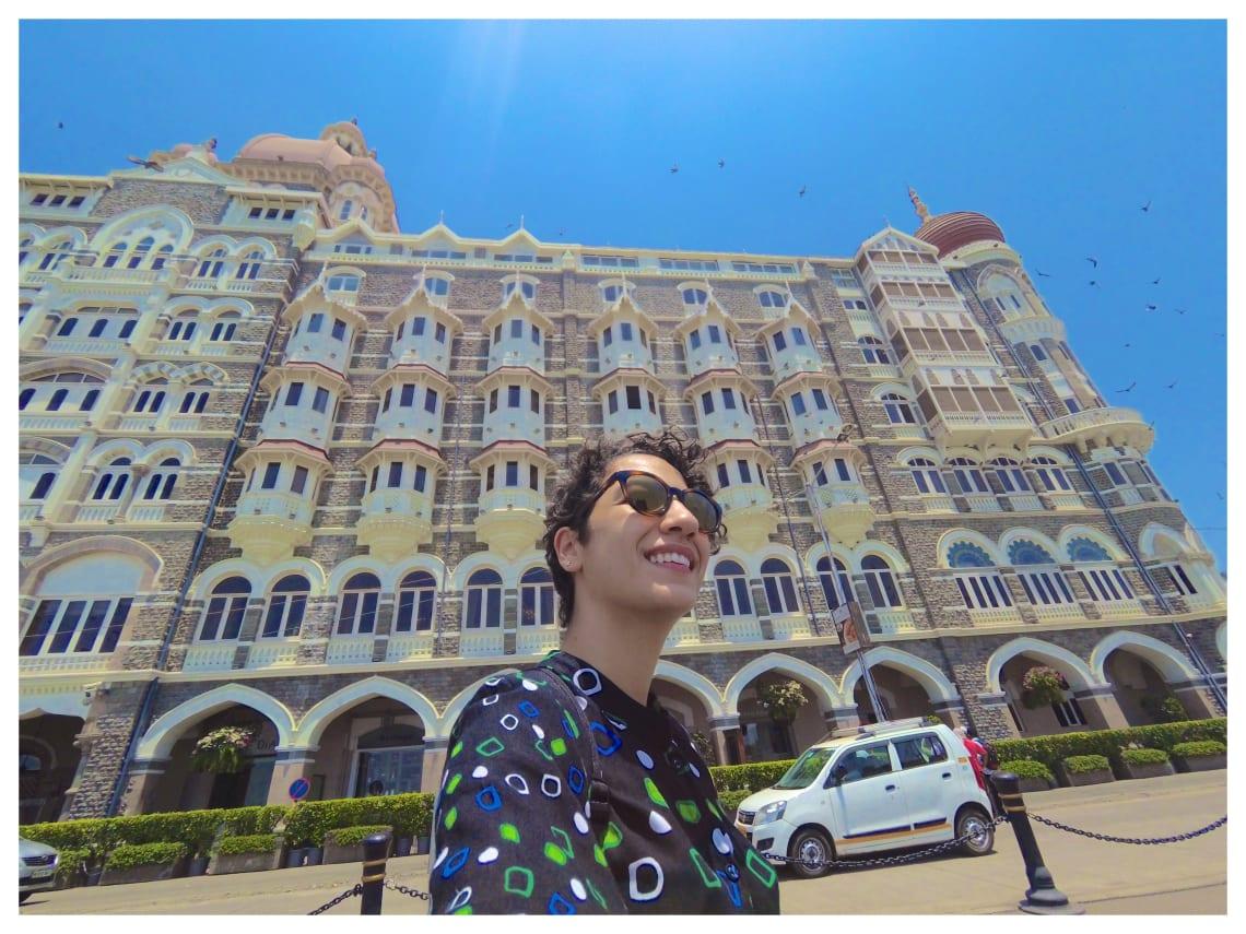 Camila no Taj Mahal Palace