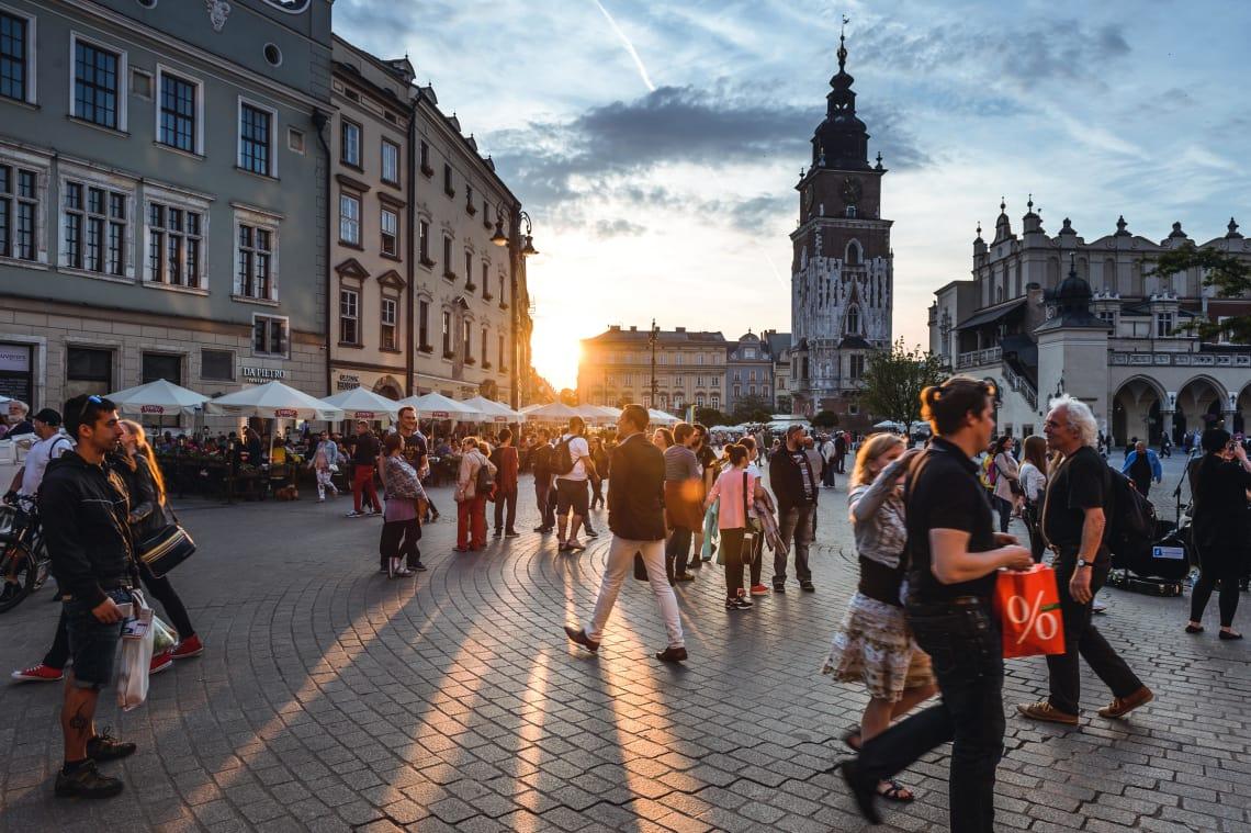 Cidades da Europa baratas para viajar: Cracóvia.