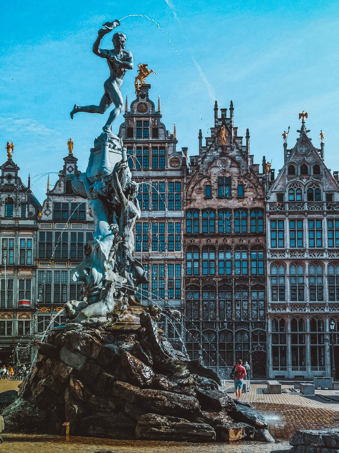 Traveling in Brussels, Belgium
