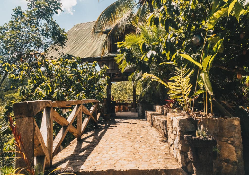 Bartend at Utopia Eco Lodge, Semuc Champey, Guatemala