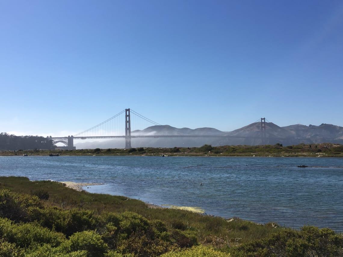 Qué lugares visitar en California, Estados Unidos _ Worldpackers - puente de San Francisco