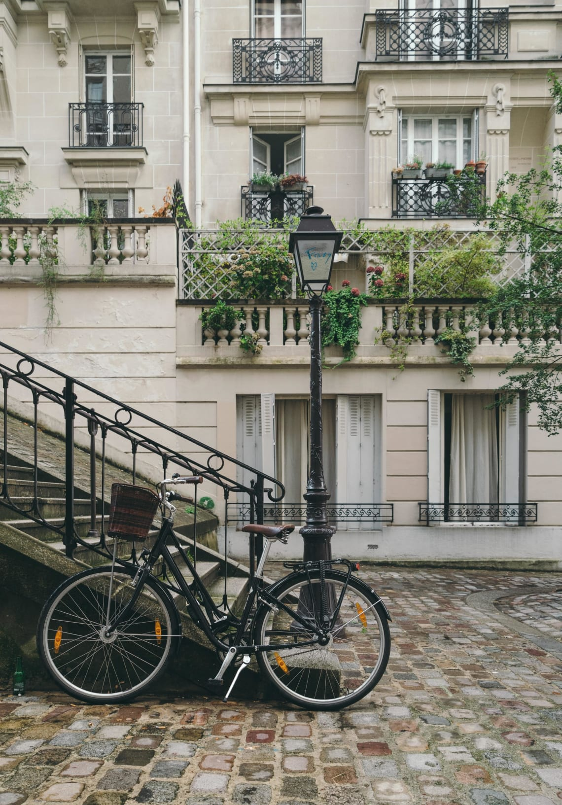 Local life in Paris, France