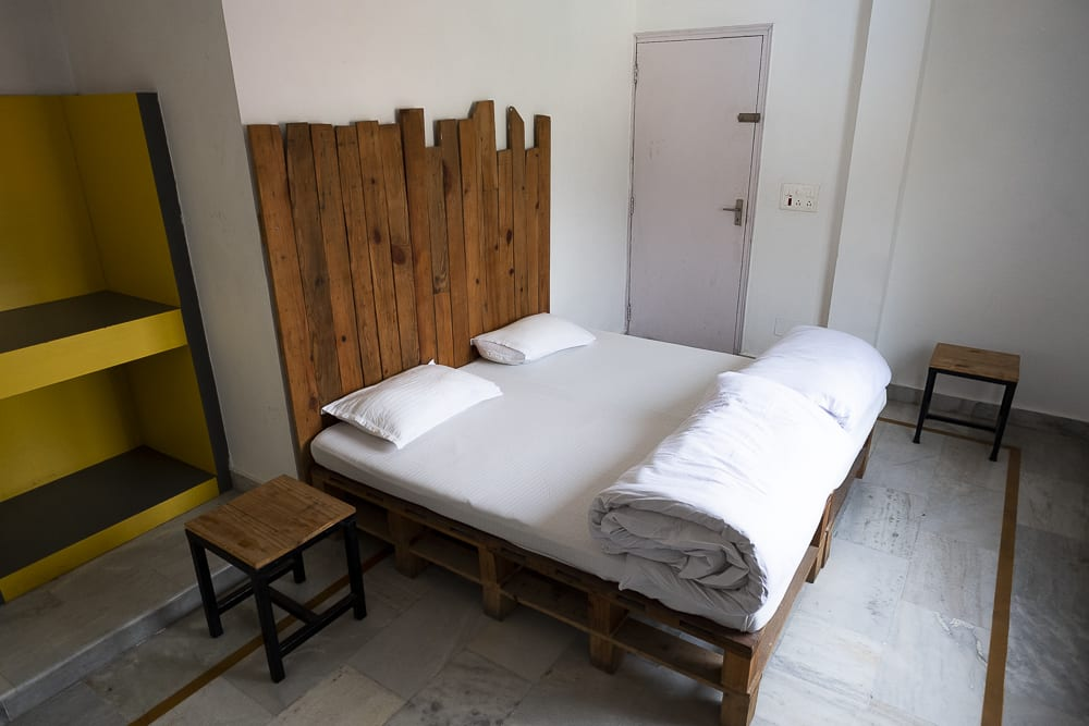 17 días haciendo un voluntariado en India, en la capital mundial del yoga: Rishikesh - Worldpackers - habitación de bunk hostel en Rishikesh, India