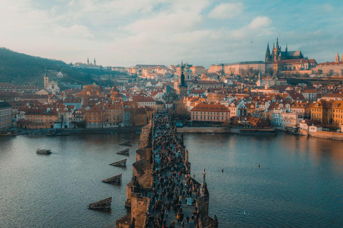 Cidades mais baratas da Europa para ser nômade digital: Praga, República Tcheca