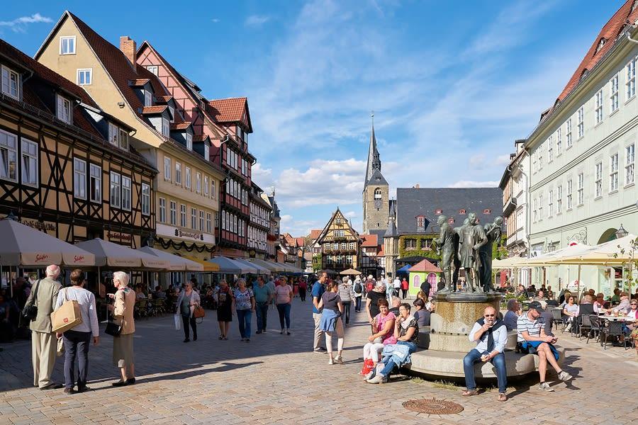 Viajar para a Alemanha:Quedlinburg