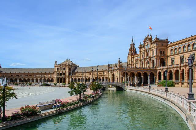 Praça Espanha, Sevilha, Andaluzia