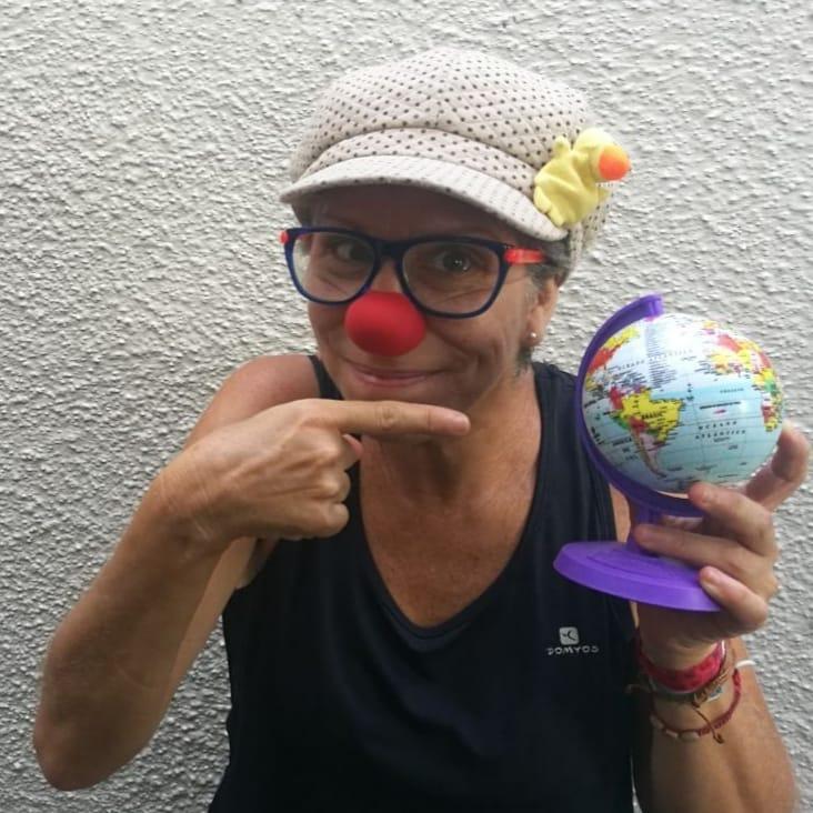 Paula trabalhava como palhaça em ONGs e hospitais