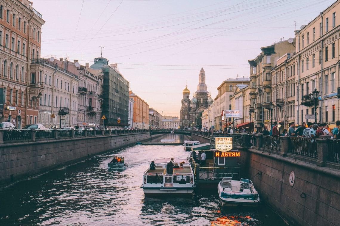 Inspirational cities: St. Petersburg, Russia