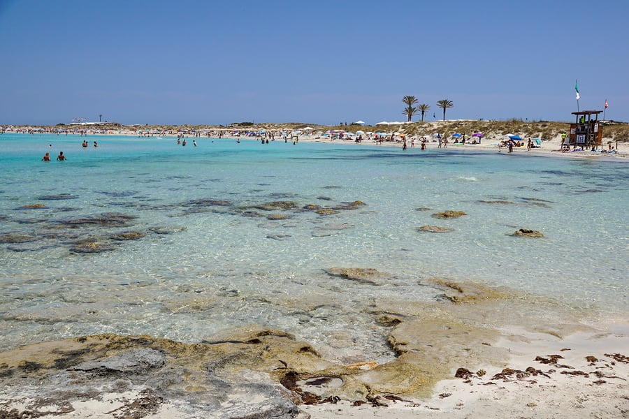 Playa de Ses Illetes, Formenta, Espanha